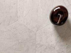 Pavimento/rivestimento in marmo di CarraraKUBICA ESAGONO CARRARA - TWS - TIPICAL WORLD STONE