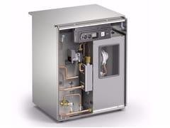 Gruppo termico a basamento a condensazione KUTter B inox - Condensazione Gas