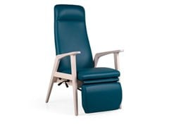 Poltrona reclinabile in pelle con poggiapiediKYARA H120 MAD RCL RP - FENABEL - THE HEART OF SEATING