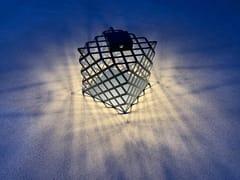 Lanterna ad energia solare in acciaioL'X | Lanterna ad energia solare - ARALIA - LYX-LUMINAIRES
