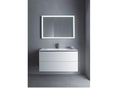 Mobile lavabo componibile sospeso con cassetti L-CUBE - ME | Mobile lavabo sospeso - L-Cube