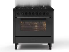 Cucina a libera installazione in acciaioL09-MGD | Cucina a libera installazione - ILVE