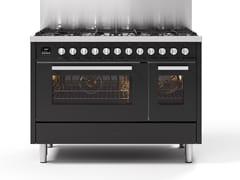 Cucina a libera installazione in acciaioL12 | Cucina a libera installazione - ILVE