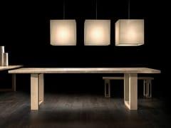 Tavolo rettangolare in rovere VERO L620   Tavolo in rovere - Vero