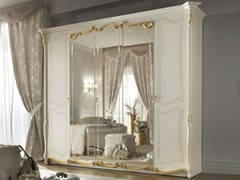 Armadio in legno con specchioLA FENICE | Armadio - LINEA & CASA +39