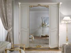 Armadio in legno con specchioLA FENICE | Armadio in legno - LINEA & CASA +39