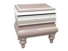 Comodino rettangolare in legno con cassettiLA MÈR | Comodino in legno - LOLA GLAMOUR