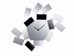 Orologio in acciaio inox da pareteLA STANZA DELLO SCIROCCO   Orologio in acciaio inox - ALESSI