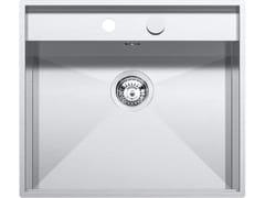 Lavello a una vasca da incasso in acciaio inoxLAB 316 1LLB616 - BARAZZA