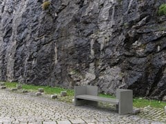 Panchina con schienaleLAGUN - ULMA ARCHITECTURAL SOLUTIONS