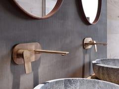 Miscelatore per lavabo a muro monocomando con piastraLAGUNA   Miscelatore per lavabo con piastra - JAQUAR AND COMPANY PVT