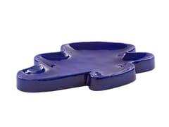 Vassoio in ceramicaLAKE BIG - PULPO