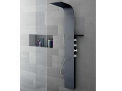 Gruppo Geromin, LAMA Alulife® Colonna doccia a parete termostatica in Alulife® con soffione