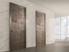 Porta a battente in sughero LAND | Porta in derivati del legno - Aluminium Chic