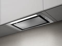 Cappa in acciaio inox ad incasso con illuminazione integrataLANE - ELICA