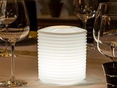 Lampada da tavolo a LED in plastica con sistema RGBLANTERN - SMART AND GREEN