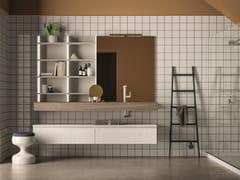 Piano lavabo / mobile bagno LAPIS COMP. 2 - Lapis