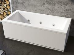 Vasca da bagno idromassaggio rettangolare in acrilicoLAQUA - RELAX DESIGN