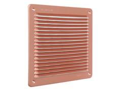 Griglia di ventilazione quadrata in alluminio ramatoLAR2323AR - FIRST CORPORATION
