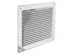 Griglia di ventilazione quadrata in acciaio InoxLAR2323IN - FIRST CORPORATION