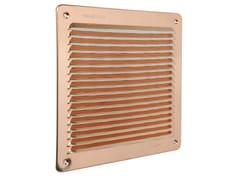 Griglia di ventilazione quadrata in rameLAR2323RA - FIRST CORPORATION