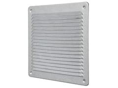 Griglia di ventilazione quadrata in metallo AluzinkLAR2323ZK - FIRST CORPORATION
