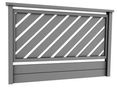 Parapetto in alluminioLARA - ALBA