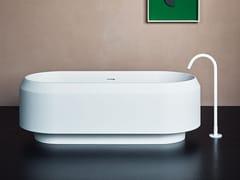 Vasca da bagno centro stanza in Cristalplant®LARIANA | Vasca da bagno - AGAPE
