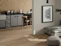 Pavimento/rivestimento in gres porcellanato effetto legnoLARIX - GRUPPO ARMONIE