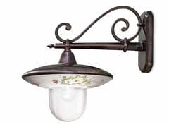 Applique per esterno in metallo e ceramicaLATINA | Applique per esterno in ceramica - FERROLUCE