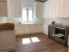 Mobile lavanderia componibile laccato in legno masselloBAKERSFIEL | Mobile lavanderia - MARTINI MOBILI