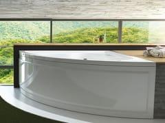 Vasca da bagno angolare idromassaggio in acrilicoLAURA - RELAX DESIGN