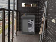 Mobile lavanderia in ABS con lavatoio per esterniLAVACRIL ON - COLAVENE