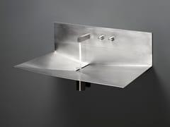 Lavabo sospeso in acciaio inoxLAVANDINO - ANTONIO LUPI DESIGN®