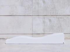 SIT, LAY A Panchina componibile curva in calcestruzzo