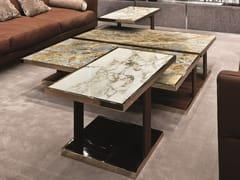 Tavolino rettangolare in marmo LAYER | Tavolino rettangolare - Loveluxe