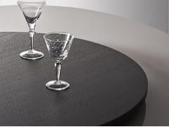 Piano per tavoli rotondo in legno impiallacciatoLAZY SUSAN | Piano per tavoli in legno impiallacciato - MERIDIANI