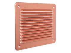 Griglia di ventilazione rettangolare in alluminio ramatoLBR1916AR - FIRST CORPORATION