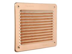 Griglia di ventilazione rettangolare in rameLBR1916RA - FIRST CORPORATION
