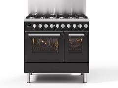Cucina a libera installazione in acciaioLD09 | Cucina a libera installazione - ILVE