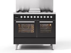 Cucina a libera installazione in acciaioLD10 | Cucina a libera installazione - ILVE