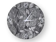 Orologio da parete in legno stuccatoLEAVES COLD | Orologio - LEONARDO TRADE