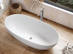 Acquabella, LECH Vasca da bagno centro stanza ovale in Dolotek©