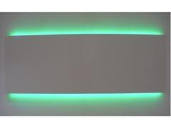 Radiatore orizzontale a bassa temperatura a pareteLED   Radiatore orizzontale - GEBER RADIATORI