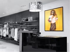 Espositore a parete luminosoLED SIGN 30 EXTRA SLIM | Espositore a parete - REMOR