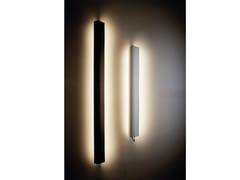 LAMPADA DA PARETE A LED A LUCE DIRETTA E INDIRETTA IN VETRO BOROSILICATOIN THE TUBE 360° FLAP - DCW ÉDITIONS