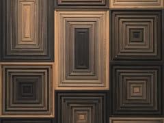 Rivestimento tridimensionale in legno per interniLEDGER - WONDERWALL STUDIOS