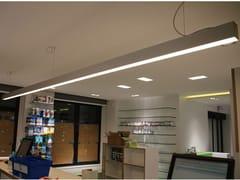 LAMPADA A SOSPENSIONE A LED IN ALLUMINIO ANODIZZATO°LEDLINE 60 | LAMPADA A SOSPENSIONE - EDEN DESIGN