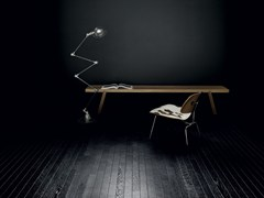 Kerakoll Design, LEGNO+COLOR LARGE (LCL) Superficie continua composta da elementi di legno multilayer