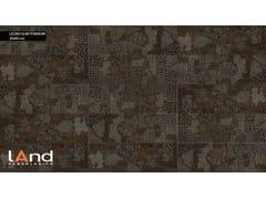 Land Porcelanico, LEGNO SLIM TITANIUM Rivestimento in gres porcellanato tecnico effetto legno